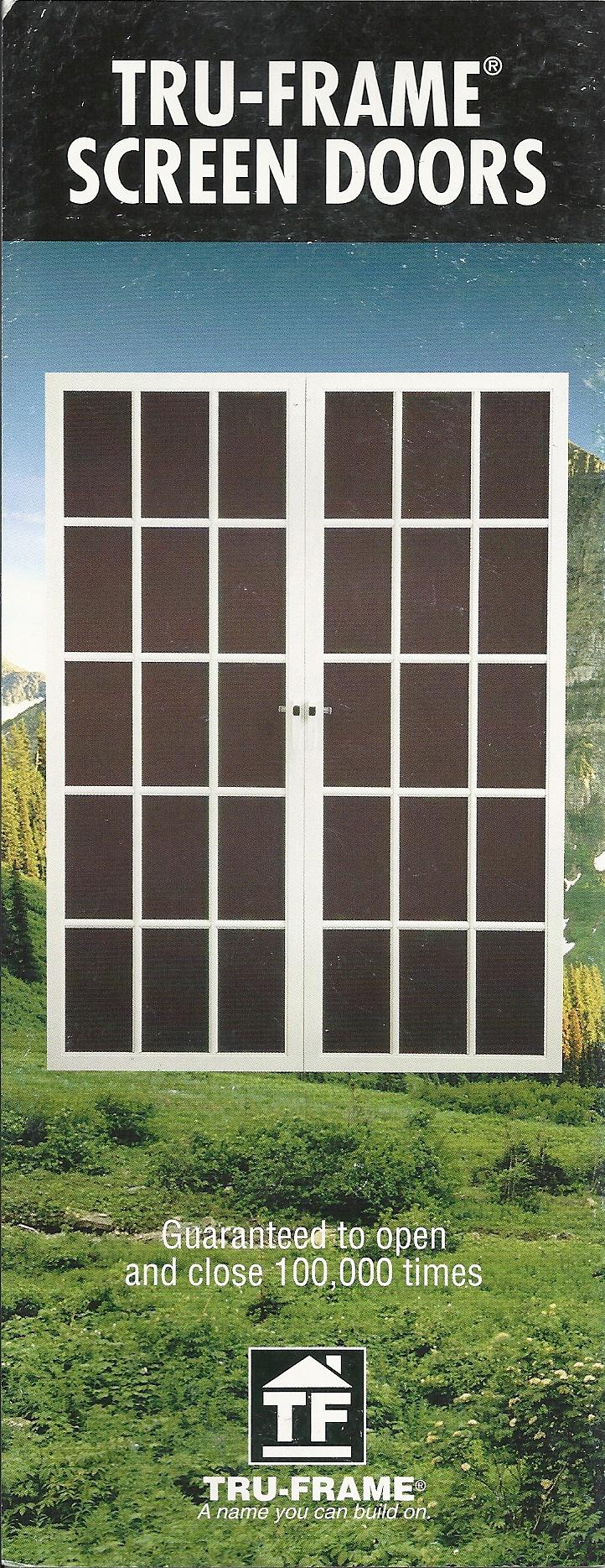 Products for Screen door options